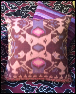 Pink and Berry Tribal Ikat