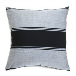 Black and Gray Sampin Pillow Pair