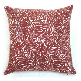 Dots and Swirls Pillow