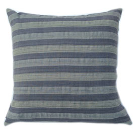 Gray-Blue Natural Dye  Pillow