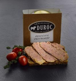 DUROC Mettwurst gekocht