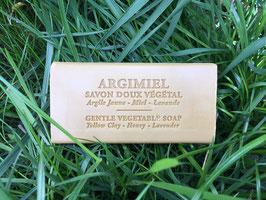 Savon doux végétal - Argile Jaune - Miel - Lavande - 150g