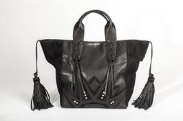 xs Shopper - Rocking Ethno BLACK