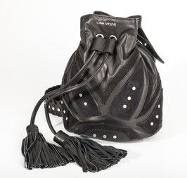 Bucket Bag - Rocking Ethno BLACK