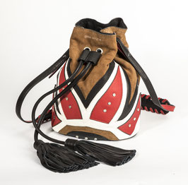 Bucket Bag - Rocking Ethno RED
