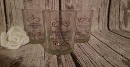 Gläser mit Wunschspruch oder Foto