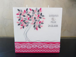 Hochzeitskerze Hamony Baum