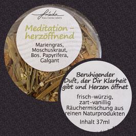 Meditation herzöffnent