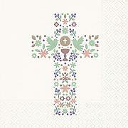 Serviette Kreuz