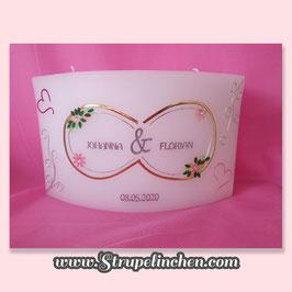 Hochzeitskerze Bogen Boho Vintage