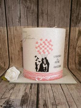 Hochzeitselypse Brautpaar