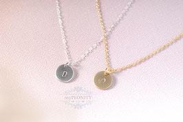 Initialen - Anhänger, Halskette