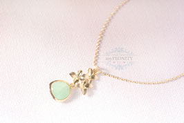 Blüten Anhänger - Halskette