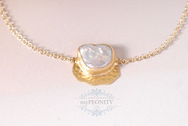 Keshi Perle - Collier, Anhänger, Halskette