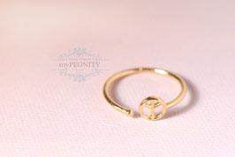Love Peace - Friedenszeichen Ring