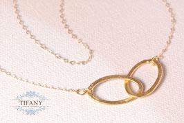 Endless Love - vergoldete Halskette
