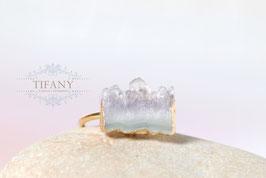 Lavendel Amethyst - Druzy Ring