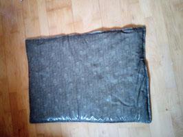 Hundedecke - wenn es etwas pflegeleichter sein soll . Decke ist von beiden Seiten leicht feucht abzuwischen .