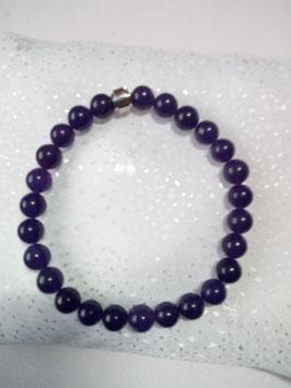 Armband aus Halbedelsteinen : Jade