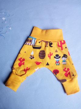 Frühchen Jersey Hose - gelb in Größe 40 -  44