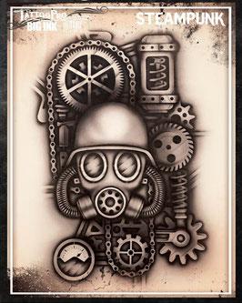 """Stencil """"Steampunk"""""""