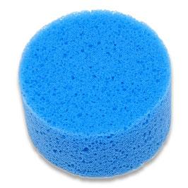 Feinporiger Schwamm Blau