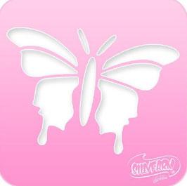 Schablone Schmetterling