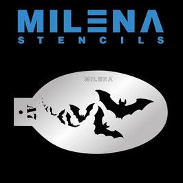 Milena Stencil A7