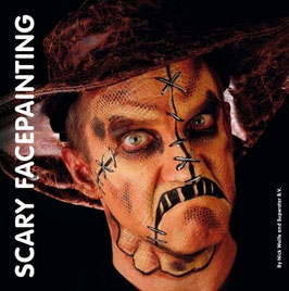 Scary Face Painting by Nick Wolfe