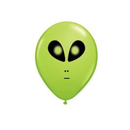 Rundballons Alien
