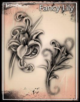Stencil Fancy Lily