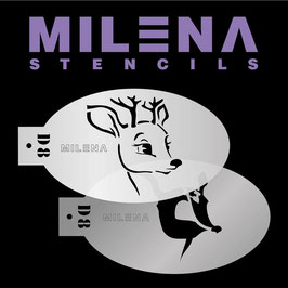 Milena Stencil D8