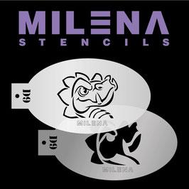 Milena Stencil D9