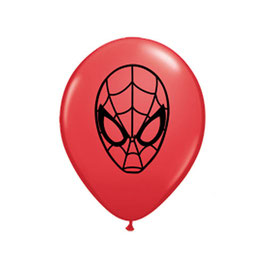 Rundballons Spiderman