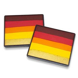 Red Hot Rainbow Cake