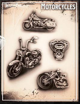 """Schablone """"Motorräder"""""""