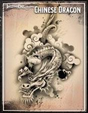 """Schablone """"Chinesischer Drache"""""""