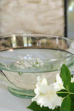 Souvinier Schale aus Glas