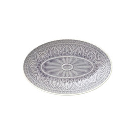 ovale Platte vom Dänischen Label Bungalow Chloe
