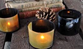 Teelichthalter aus Horn