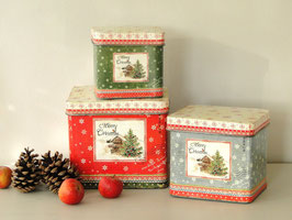 Weihnachtliche Gebäck-Dose