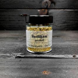 Basilikum - gerebelt -