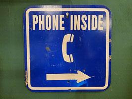 """Vintage SING """"PHONE INSIDE"""" 【Mar-1446】"""