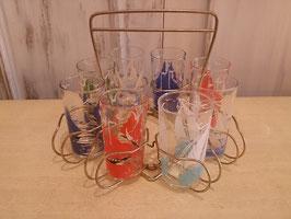 Vintage グラスセット  【MAR-0892】