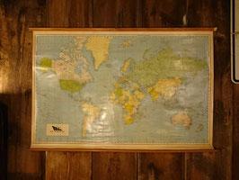 Vintage Map 海洋図  【Mar-1226】