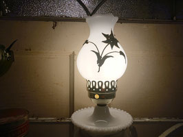 Vintage ミルクガラス テーブルランプ 【Mar-2007】