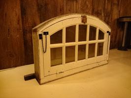 Antique Wood Window 格子二重窓  【Mar-1104】