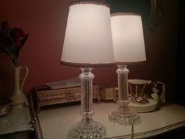 Vintage バブルガラス テーブルランプ  【MAR-0042】