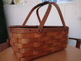 Vintage Picnic Basket 【Mar-1702】