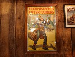 1900年 FRANKLIN'S  ENTERTAINERS ポスター 【Mar-1816】
